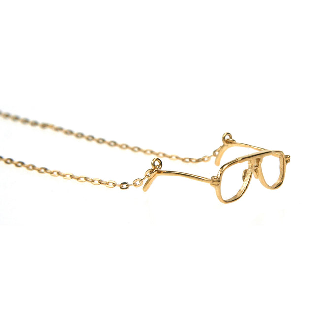 Articulated glasses necklace