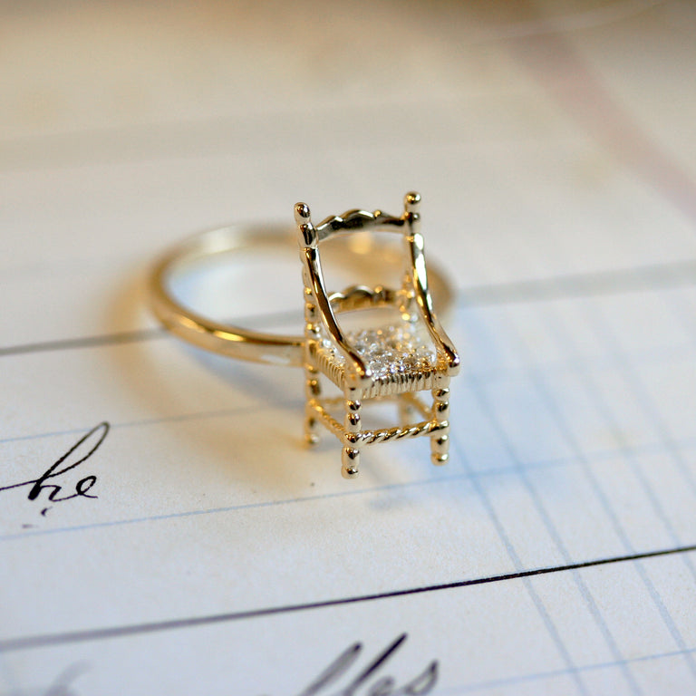 Mini chair ring