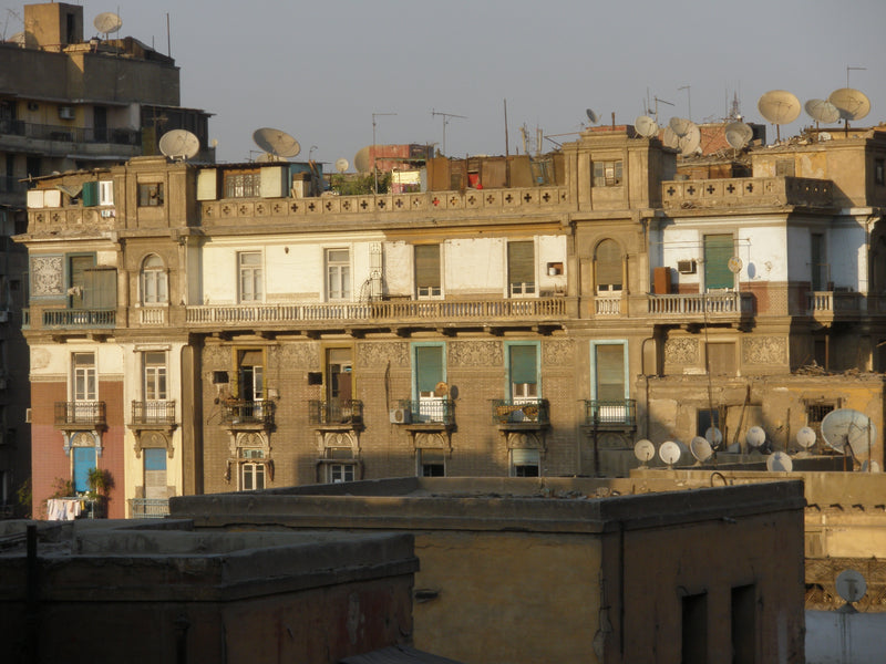 Downtown Cairo's Parisian Influence
