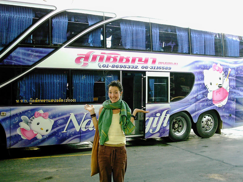 Bus Travel; Southeast Asia Transportation Fun