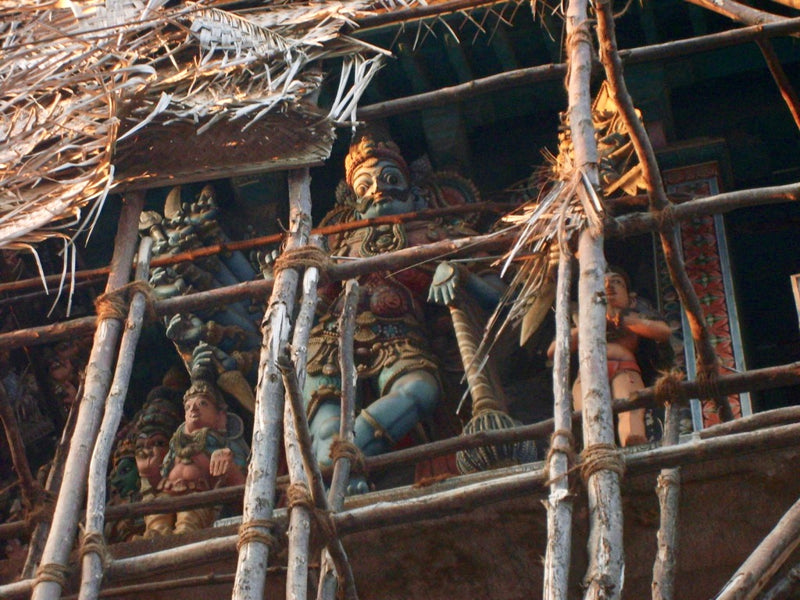 Temple Renovation in India