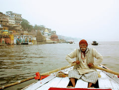 India, Morning Boat Ride, Varanasi
