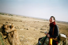 India Desert Camel Safari, Founder Photo