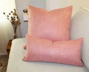 Linen Pillow, Rose