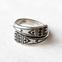 Load image into Gallery viewer, Wrapped Hill Tribe Ring