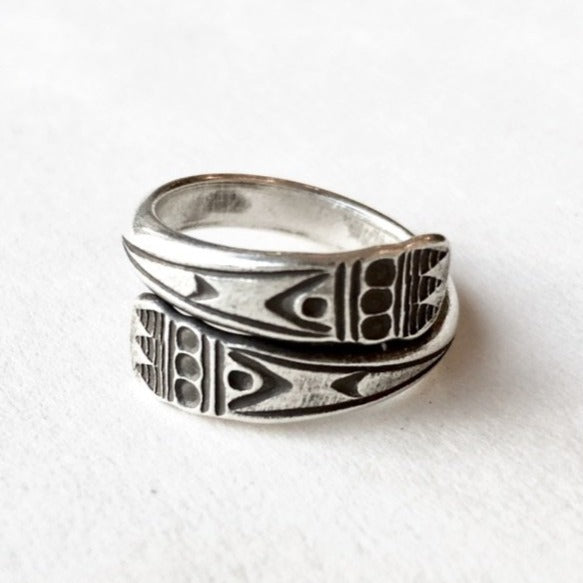 Wrapped Hill Tribe Ring