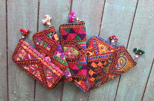 Handmade Gujarat Clutch Purse India