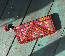 Load image into Gallery viewer, Gujarati Clutch - GadaboutGoods