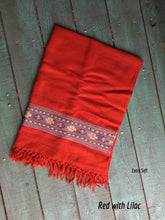 Load image into Gallery viewer, Hand Loomed Kullu Wool Scarf - GadaboutGoods