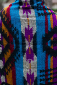 Bright Tribal Throw/Scarf