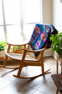 Bright Tribal Bohemian Throw /Scarf - GadaboutGoods
