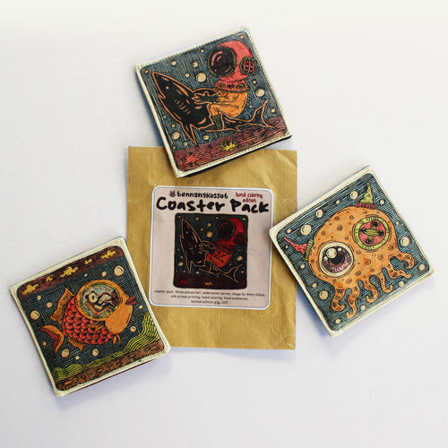 Graffiti Art Coasters (Set of 3)