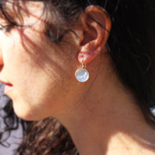 Load image into Gallery viewer, Flower Drop Hill Tribe Earrings
