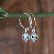 Load image into Gallery viewer, Tribal Ball Hill Tribe Earrings