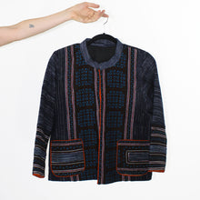 Load image into Gallery viewer, Hmong Jacket, Blue Accents