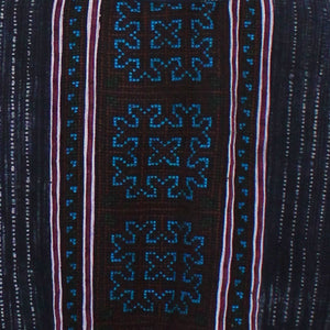 Hmong Jacket, Blue Accents