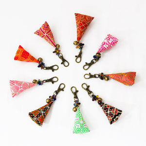 Hmong Keychain Ornament, Various Colors