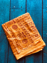 Load image into Gallery viewer, Cotton Mantra Sarong/Scarf/Beach Blanket/Towel/Etc, Various Colors - GadaboutGoods