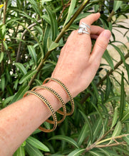 Load image into Gallery viewer, Brass Bracelets, Bangles (set of 3) - GadaboutGoods