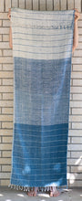 Load image into Gallery viewer, Handloomed Indigo Scarf