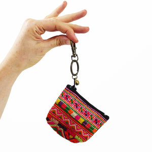Hmong Keychain Coin Purse