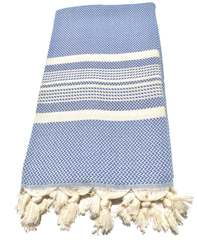 Turkish Towel, Hanzade in Blue