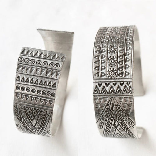 Wide Hill Tribe Cuff