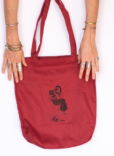 Kasploy Red Lovers Tote