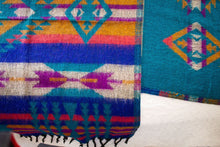 Load image into Gallery viewer, Bright Tribal Throw/Scarf