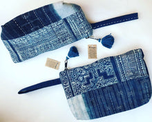Load image into Gallery viewer, Hmong Indigo Clutch