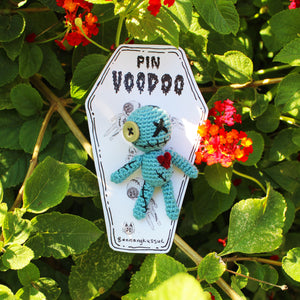 Voodoo Doll Pin