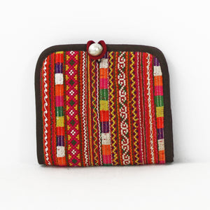 Colorful Hmong Wallets, Square