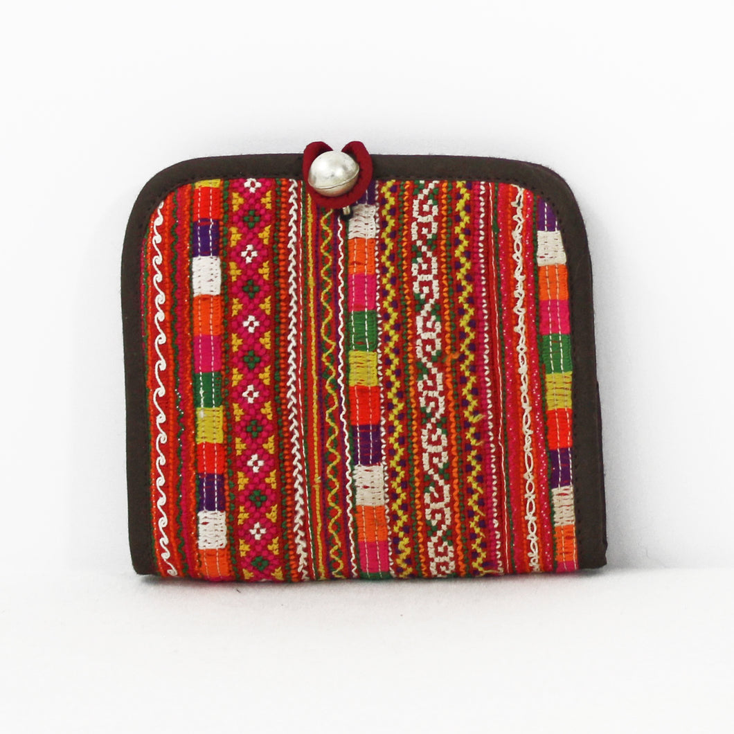 Colorful Hmong Wallet