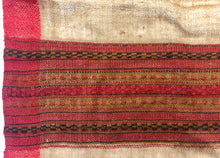 Load image into Gallery viewer, Hand Loomed Kullu Wool Scarf- Camel and Red