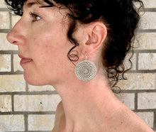 Load image into Gallery viewer, Silver Eye Hill Tribe Earrings