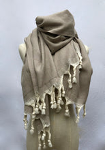 Load image into Gallery viewer, Hand Loomed Cotton Throw/Oversized Scarf - GadaboutGoods