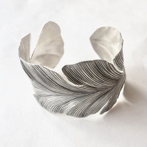 Wide Feather Cuff