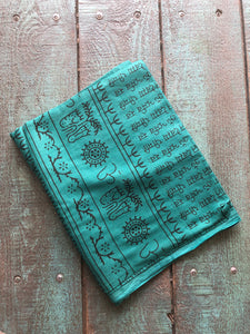 Sarong/Scarf/Beach Blanket/Towel/Etc. Cotton Mantra, Various Colors