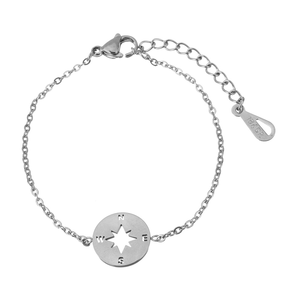 Compass Bracelet - Sour Cherry