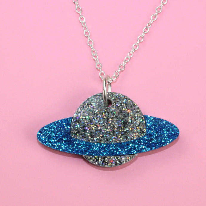 Blue Planet Necklace