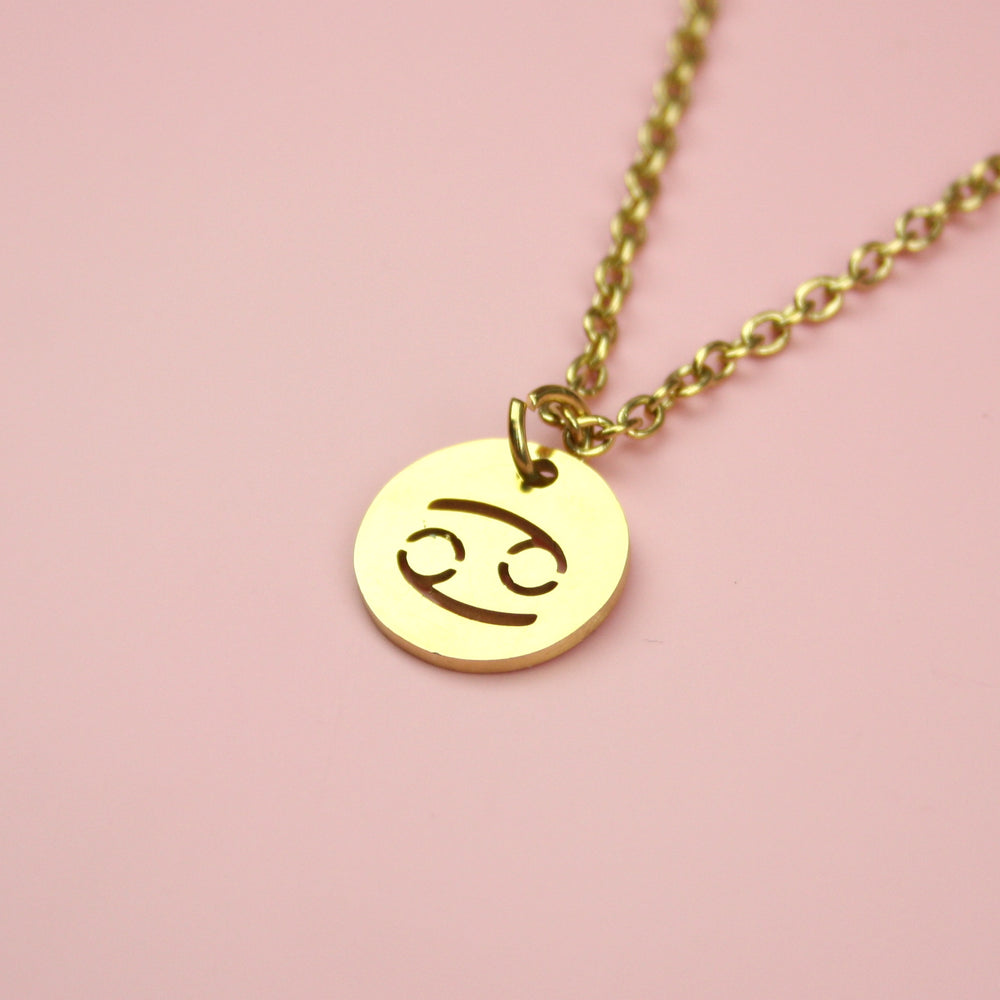 Cancer Necklace (Gold Plated)