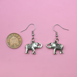 Elephant Earrings - Sour Cherry