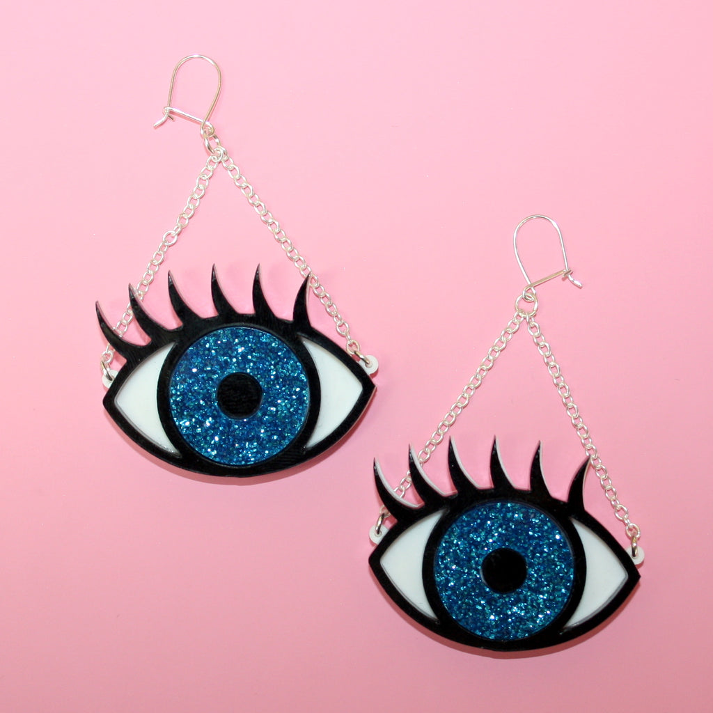 Eye See You Earrings - Sour Cherry