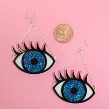 Load image into Gallery viewer, Eye Earrings
