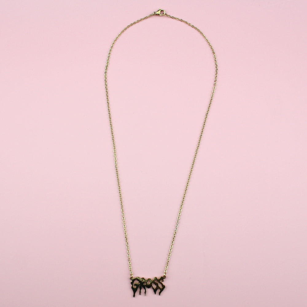 GROSS Necklace (Gold Plated)