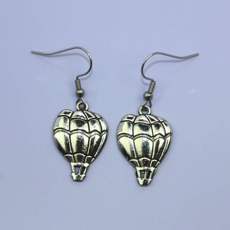 Hot Air Balloon Earrings - Sour Cherry