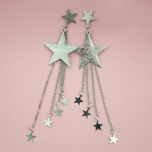 Shooting Star Drop Earrings