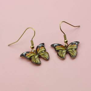 Autumnal Butterfly Earrings