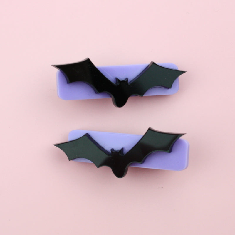 Bat To The Bone Hair Clips
