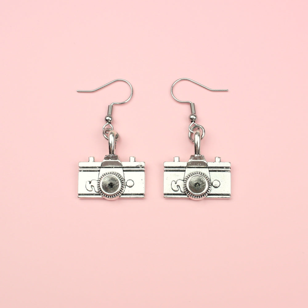 Vintage Camera Earrings